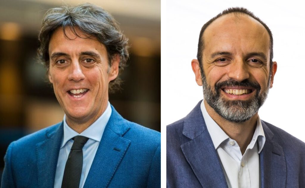 left: Raul Gil right: Marcello Del Brenna