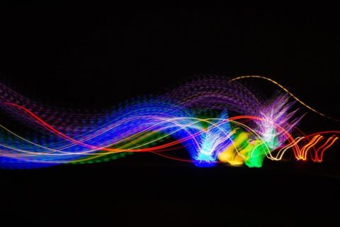Colorful dynamic lights